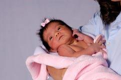 种族1个的婴孩 库存图片