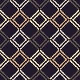 种族boho无缝的样式 传统的装饰品 几何的背景 部族的模式 民间主题 库存照片