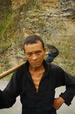 种族hmong农民 免版税库存照片