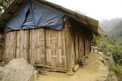 种族hmong房子 免版税图库摄影