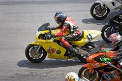 种族superbike 库存图片