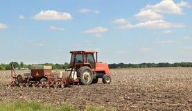 种植农田 免版税库存照片