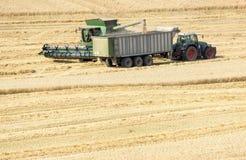 种植播种机弹簧的农业机械 免版税库存图片