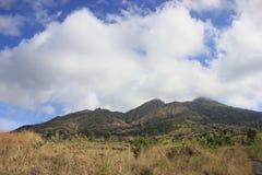 绝种火山Batur 库存图片