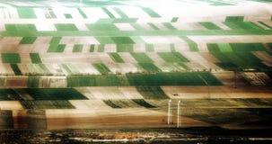 种田可视的谷物 库存图片