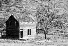种田老房子 库存图片