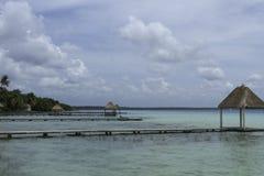 7种颜色的盐水湖 免版税图库摄影