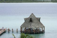 7种颜色的盐水湖 免版税库存照片
