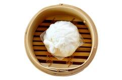 种类中国快餐饺子 免版税库存图片