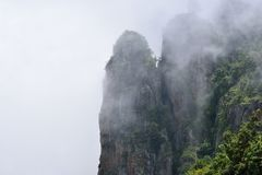 科代卡纳尔灯岩石视图 免版税库存图片