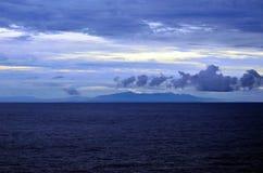 科伊瓦岛海岛,巴拿马早晨风景  免版税库存照片