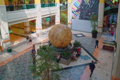 科伦坡中心,里斯本,葡萄牙 免版税库存照片