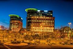 科伦坡在1997年打开了,做它最大的购物中心在伊比利亚半岛 免版税库存照片