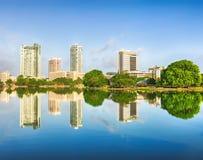 科伦坡地平线 库存图片