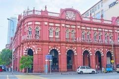 科伦坡地标  免版税库存照片