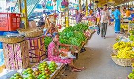 科伦坡市场  库存照片