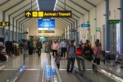 科伦坡机场国际终端内部 库存图片