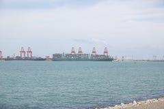 科伦坡港口 库存图片