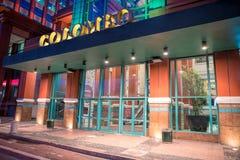 科伦坡购物中心在里斯本 科伦坡在1997年打开了,做它最大的购物中心在伊比利亚半岛 免版税库存图片