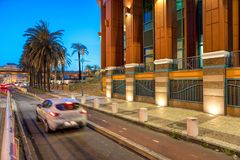 科伦坡购物中心在里斯本 库存图片