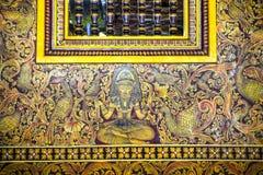 科伦坡gangaramaya lanka sri寺庙 免版税库存照片