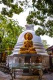 科伦坡gangaramaya lanka sri寺庙 免版税图库摄影