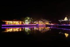 科伦坡Seema Malaka寺庙在斯里兰卡 免版税库存图片