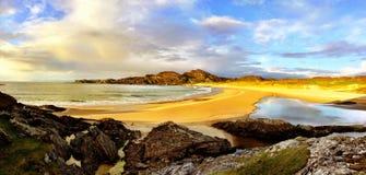 科伦赛岛海滩小岛  免版税库存照片