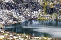 科修斯科山国家公园的,澳大利亚蓝色湖 库存图片
