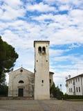 科内利亚诺威尼托古老教会  库存照片