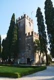 科内利亚诺,城堡,威尼托,意大利 图库摄影