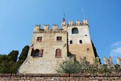 科内利亚诺,威尼托,意大利的Castello 库存照片