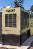 科勒商业备用发电器 免版税库存图片