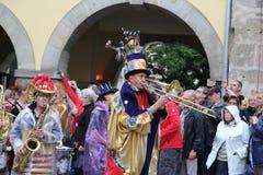 科堡的桑巴舞蹈家 免版税库存照片