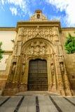 科多巴在安达卢西亚,西班牙清真寺的梅斯基塔西班牙人  库存图片