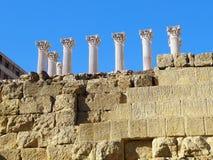 科多巴罗马寺庙的遗骸  安大路西亚 西班牙 库存照片