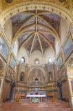 科多巴,西班牙- 2015年5月26日:长老会的管辖区在教会Iglesia de圣奥古斯丁里 免版税库存图片