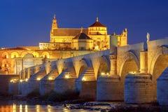 科多巴 罗马的桥梁 库存图片