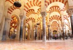 科多巴mezquita西班牙 库存图片