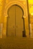 科多巴大教堂清真寺的大门  免版税库存图片