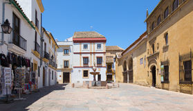 科多巴-广场del波尔图 免版税库存照片