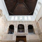 科多巴犹太教堂里面看法  免版税图库摄影