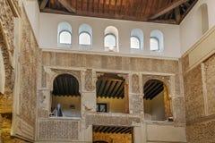 科多巴犹太教堂,西班牙 免版税库存照片