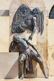 科多巴-雕刻家胡安de Mesa y Velasco纪念品(1583 - 1627)何塞曼纽尔贝尔蒙特(2004) 库存图片
