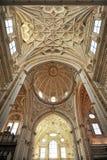 科多巴,安大路西亚,西班牙大教堂  库存照片
