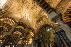 科多巴,安大路西亚,西班牙清真大寺  库存照片