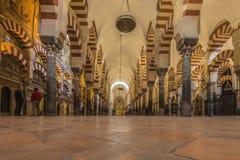 科多巴,安大路西亚,西班牙清真大寺  免版税库存照片