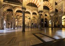 科多巴,安大路西亚,西班牙清真大寺  图库摄影
