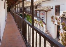 科多巴,西班牙- 2015年5月26日:Centro de Flamenco Fosforito围场佛拉明柯舞曲pacio或Musuem  免版税库存照片