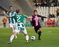 科多巴,西班牙- 3月30 :地亚哥Seoane P�rez W (2)在比赛同盟科多巴期间的行动(W)对萨瓦德尔(b) (3-0) 库存图片